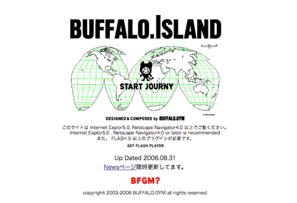 BUFFALO.GYM Site 2003〜2006